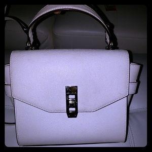 Henri Bendel White Handbag